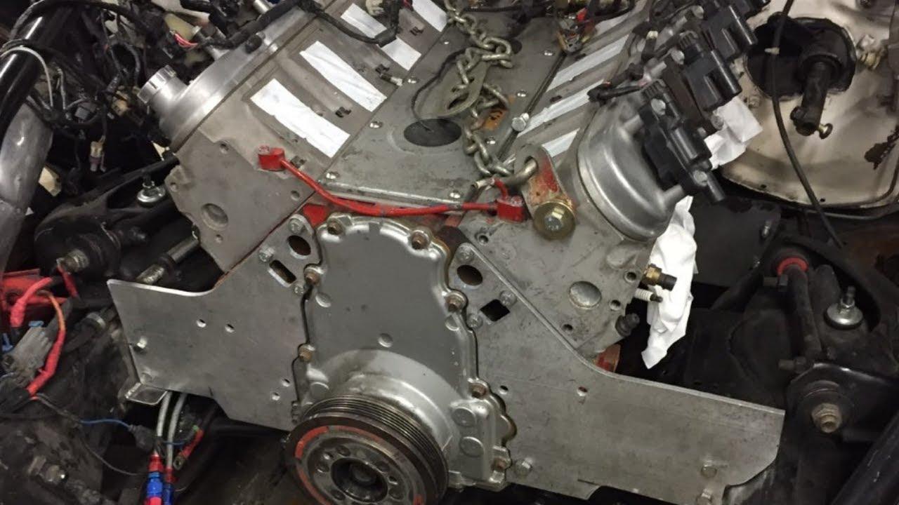 motor  mid plate install