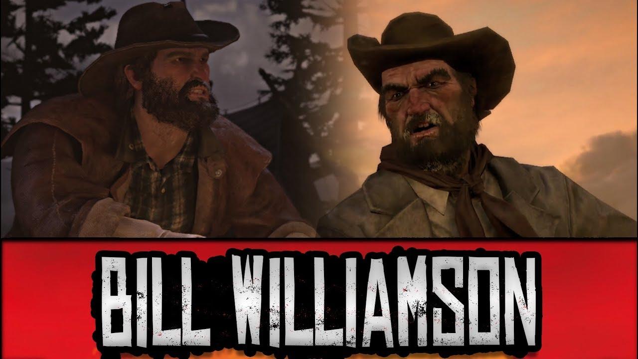 Red Dead Redemption 1 & 2 Comparison - Bill Williamson