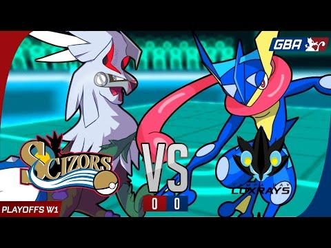 """6.25%"" GBA S7 Round 1 Playoffs: Philadelphia Scizors vs Tampa Bay Luxrays"