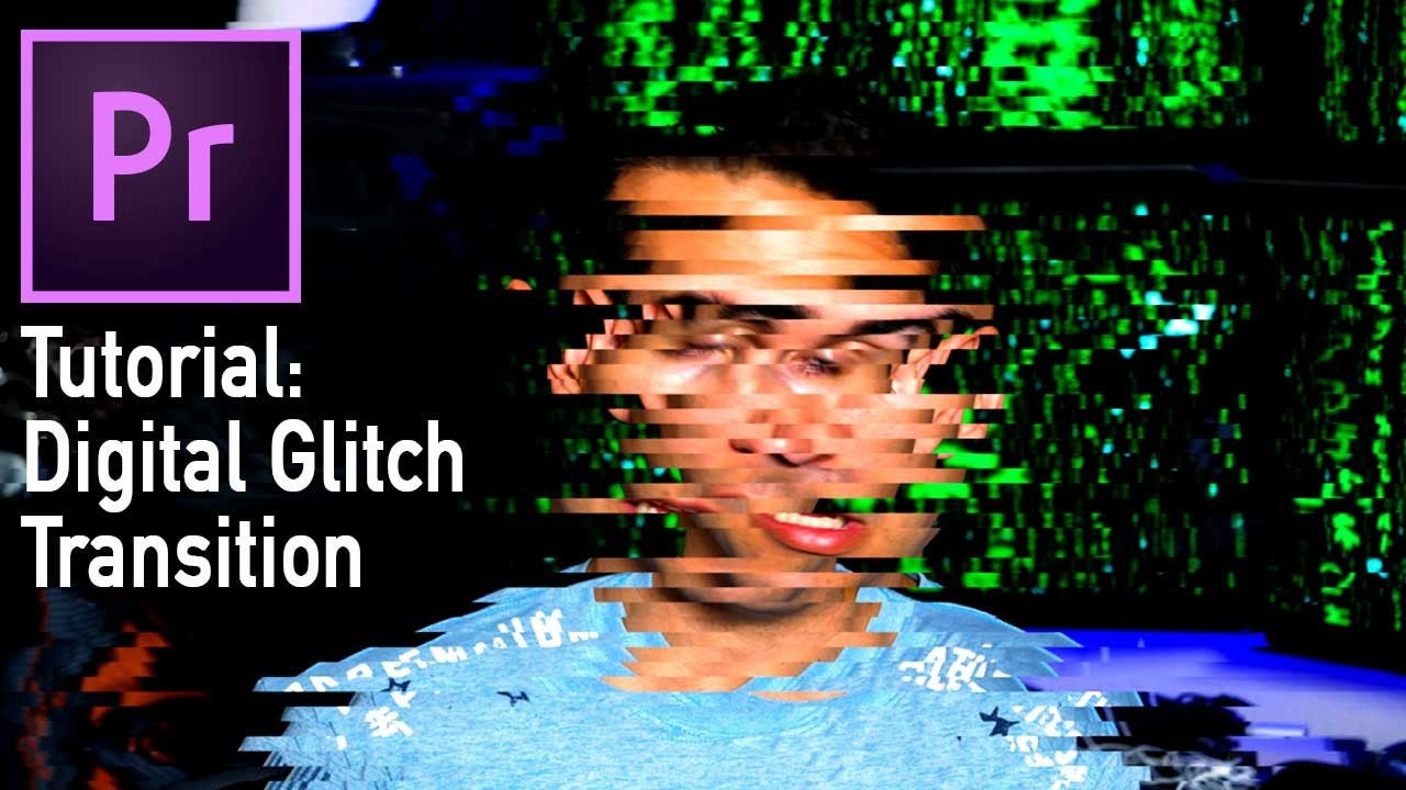Digital Glitch Transition (Adobe Premiere Pro CC tutorial)