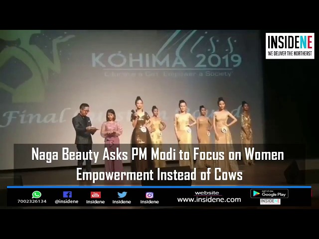 'Focus on Women Empowerment Instead of Cows': Naga Beauty to PM Modi