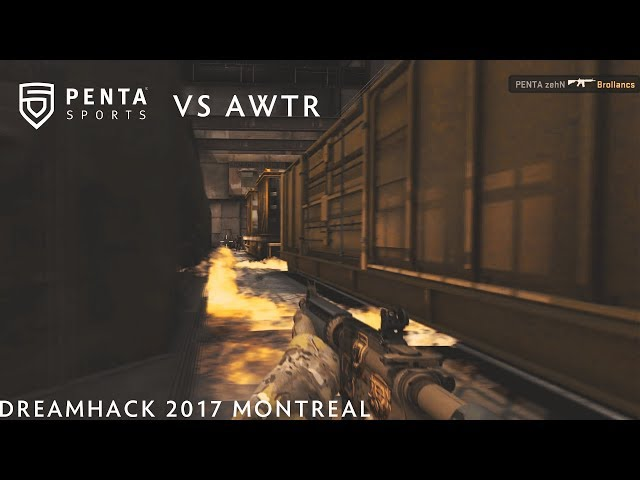 PENTA Sports vs. AWTR DreamHack 2017 Montreal Closed Qualifier