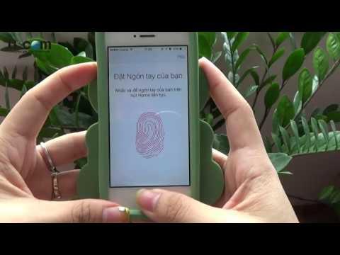 Sửa lỗi Touch ID không hoạt động trên iPhone 5S