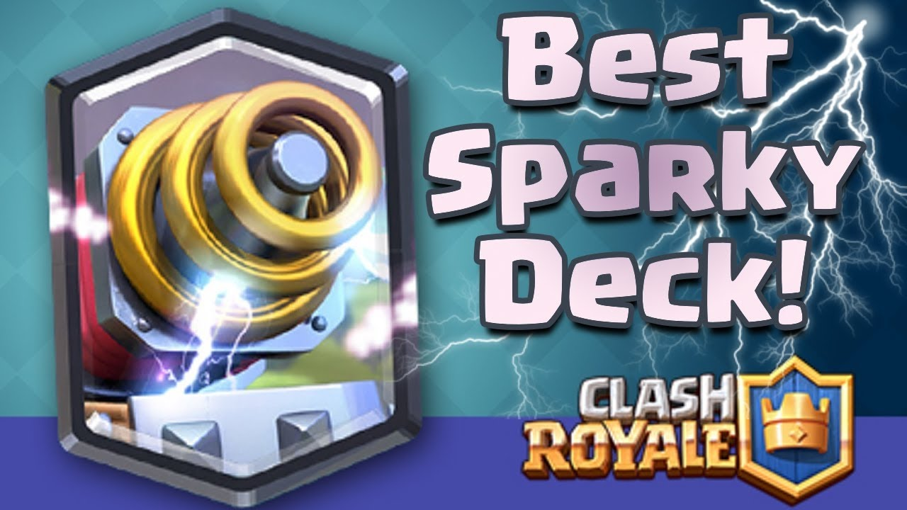 clash royale sparky op deck arena 6 to 10