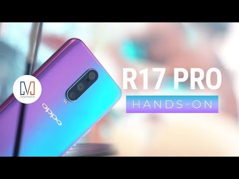 OPPO R17 Pro Hands-On (RX17 Pro) להורדה