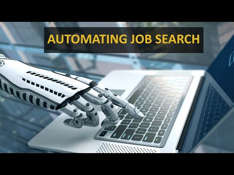 Automating Job Search (Python) {Indeed Website}