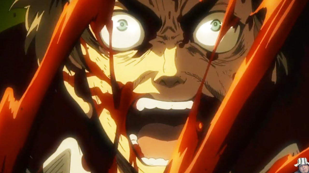 attack on titan episode 24 ������� review eren vs annie