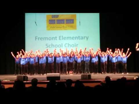 Fremont Elementary School Choir Performing