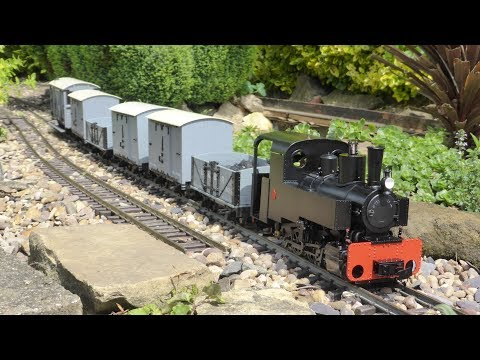 Decauville Steam Train