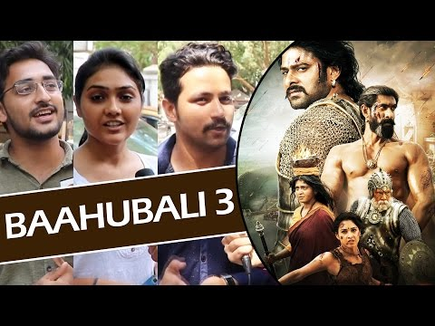 Public Excited For BAAHUBALI 3 - Predicts The Story