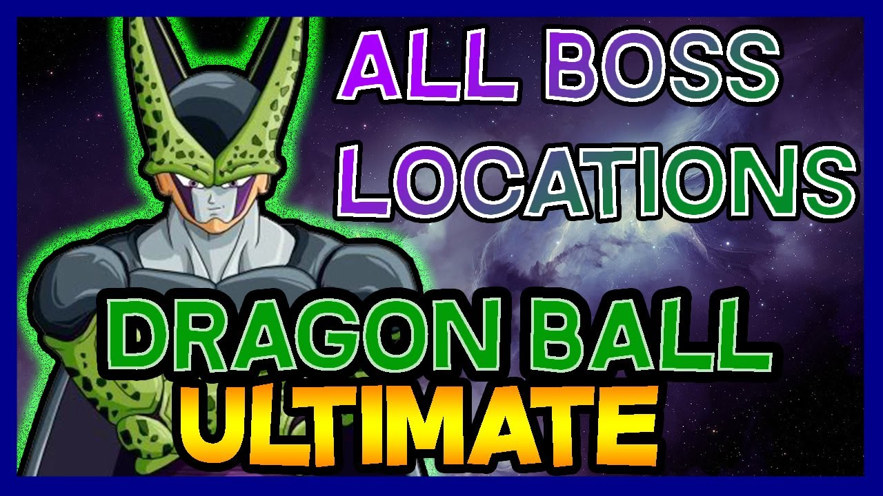Roblox Dragon Ball Ultimate All Bosses Every Boss Full Guide