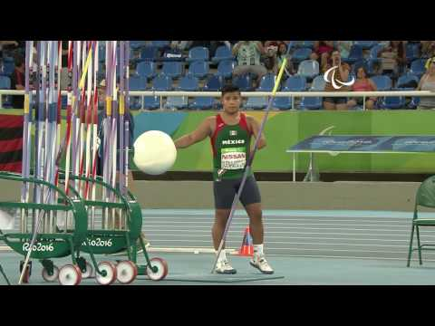 Athletics | Men's Javelin - F46 Final | Rio 2016 Paralympic Games