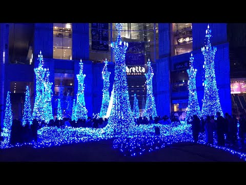 Tokyo's Million LED Christmas Light Mind Melt