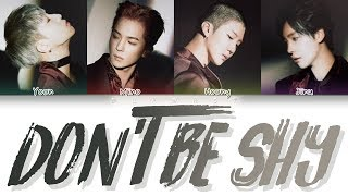 Winner 위너 Don T Be Shy Color Coded Eng Rom Han MP3