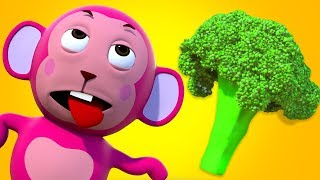 What Color is the BROCCOLI   Nursery Rhymes For Kids   Kindergarten Songs   All Babies Channel