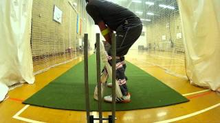 Cricket Nets | My Brother MOHSIN Batting | New Camera Angle | 2015 |