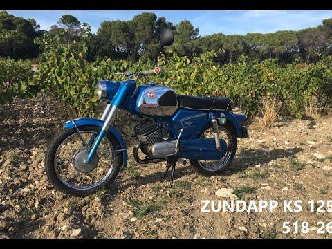 ZUNDAPP KS 125 - 518-26  // Road test