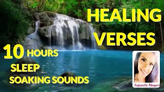 HEALING SCRIPTURES  10 HOURS BIBLE VERSES with Soothing Music SLEEP, MEDITATE, BE COMFORTED