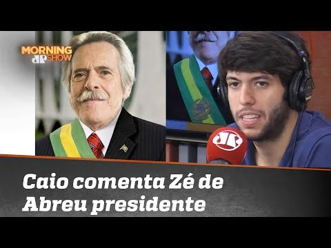José de Abreu se autoproclama presidente do Brasil; Caio Coppolla comenta