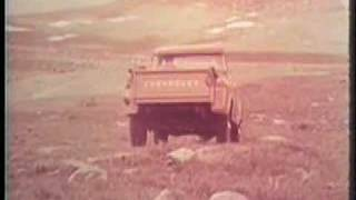 Off-Road Climb up Pikes Peak with Chevrolet truck in 1957