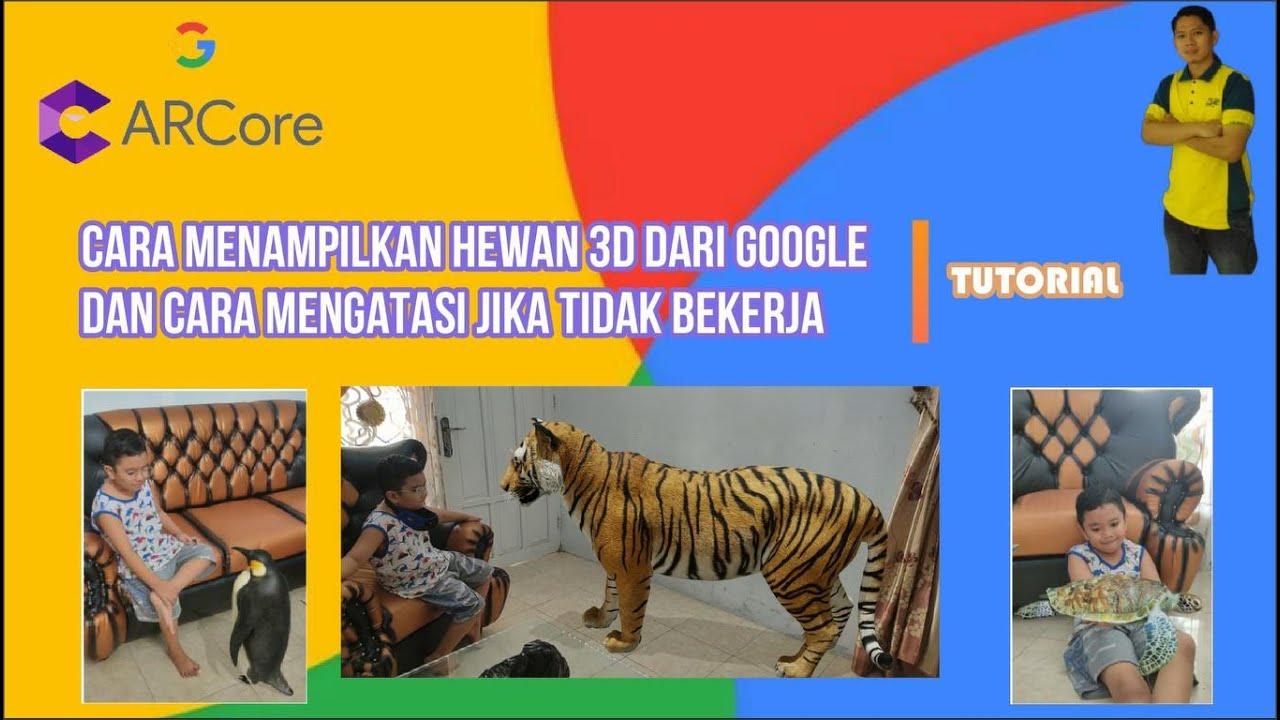 Cara Menampilkan Gambar Hewan 3d Dari Google Dan Cara Mengatasi Jika Tidak Bekerja Youtube