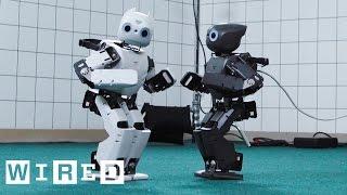 Robot Running Man Challenge | WIRED Lab