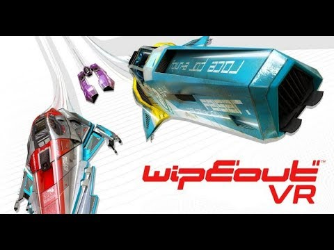 Wipeout in vr* sur ps4 pro via update free