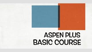 Lecture 39: Study Case II  - Cumene Production (Aspen Plus - Basic Modeling)