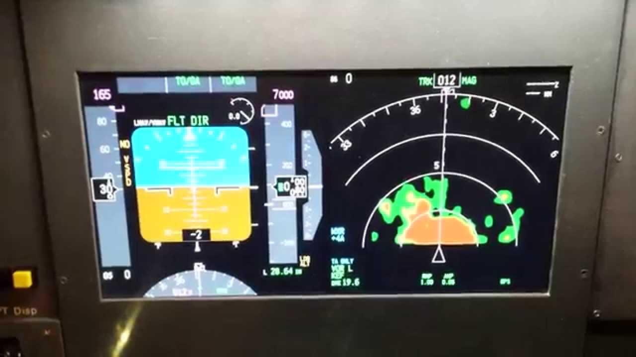 FSX PMDG 777 Gauges PFD ND on networked pc PART 1