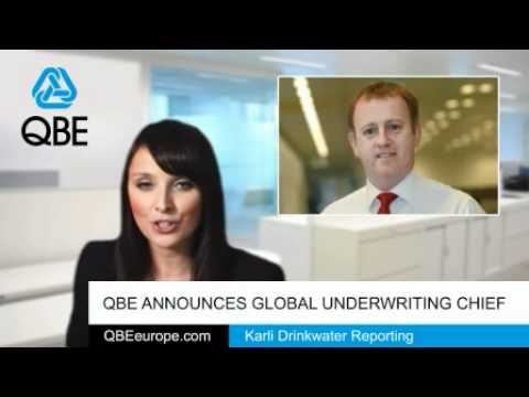 QBE announces global underwriting chief