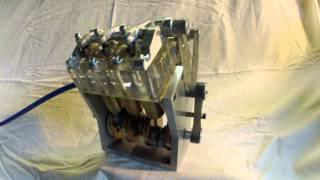 Mini moteur V6 - 24 cm3
