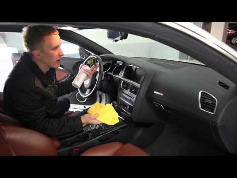 Natural Interior Car Care | Arsenal Dash Shield Tutorial