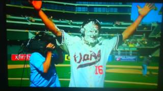 Josh Reddick gets payback for Walk off Double
