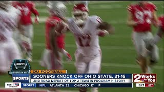 Sooners react to defeat of 2nd-ranked Ohio State
