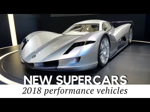 Top 10 All-New Supercars Arriving in 2018 to Set New Speed Records