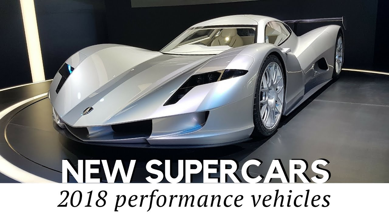Top 10 All New Supercars Arriving In 2018 To Set New Speed