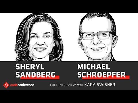 Separating politics & tech | Sheryl Sandberg & Mike Schroepfer, Facebook | Code Conference 2016