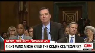 Conservative conspiracy theories about James Comey, a counter narrative for people to share