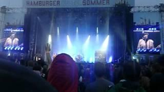 Die Ärzte Live Hamburg 25.08.2012 Trabrennbahn Anti Zombie