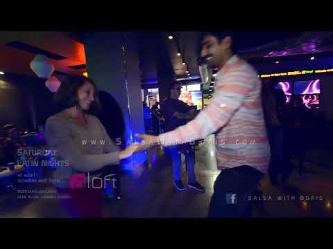 10.20.18 Saturday Latin Nights at Aloft Dancing Salsa, Bachata and more