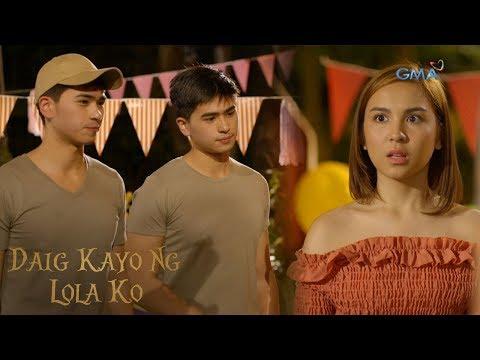 Daig Kayo Ng Lola Ko: Emma meets Mark's identical twin