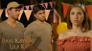 Daig Kayo Ng Lola Ko: Emma meets Mark's identical twin