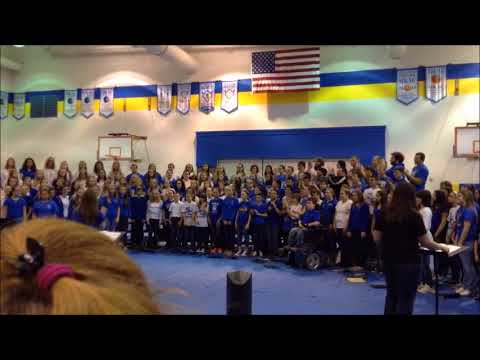 Spencer Co. 1st All County Choir Concert Best Day of My Life 3-28-15