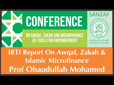IRTI Report on Awqaf, Zakah and Islamic Micro Finance - Dr Obaudullah Mohamed