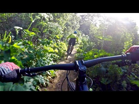 Mountain biking with the Cal Cycling Club in Oakland