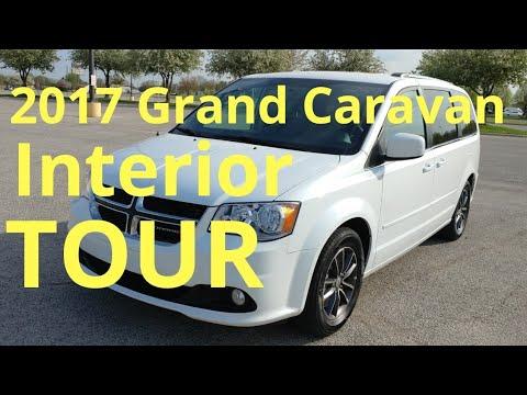2017 Dodge Grand Caravan Sxt Interior Tour Youtube