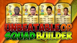 Fifa 16 Unbeatable 80k Cheap Sweaty OP BPL Squad Builder Transfered Pato & Doumbia Ultimate Team