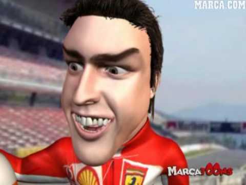 Fernando Alonso Y Hamilton, Vuelve Shumi - MarcaToons