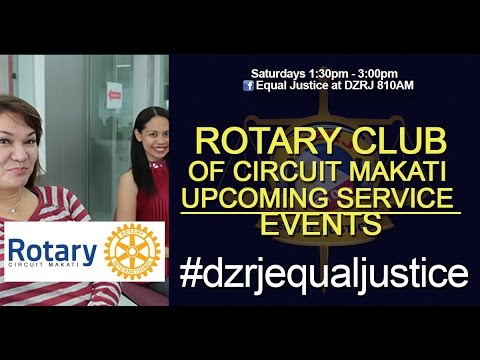 Rotary Club of Circuit Makati Upcoming Service Events