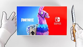 Fortnite Nintendo Switch Double Helix Skin unboxing